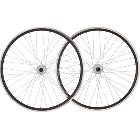 "Point SingleSpeed Paire de roues 28"", black/white"